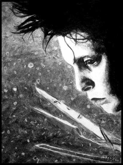 Johnny Depp by Montaine